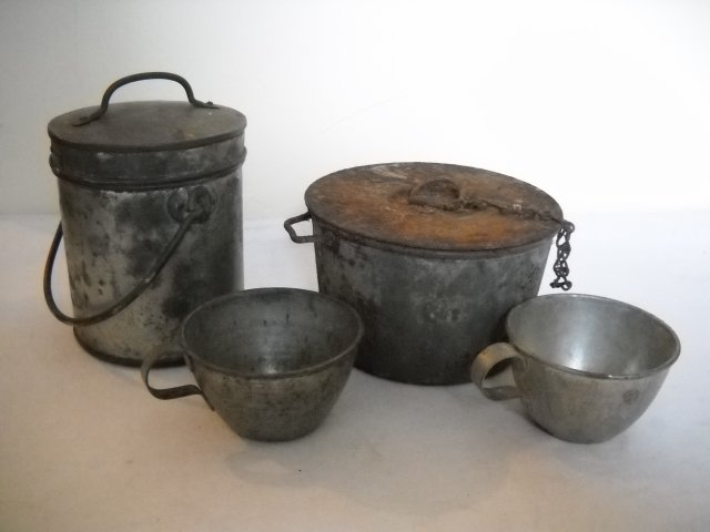 Popotte gamelle ravitaillement soupe premiere guerre for Ustensiles de cuisine anciens